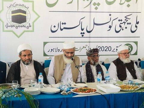 ملی یکجہتی کونسل پاکستان کا سربراہی اجلاس