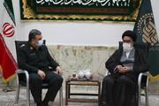فرمانده ناجا با مراجع تقلید و علما دیدار کرد