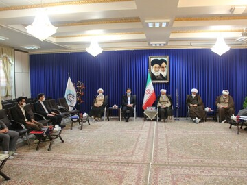 تصاویر/ نشست وحدت حوزه و دانشگاه با حضور نماینده ولی فقیه در کردستان