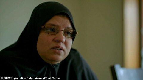 شجاعت قربانی مسجد کرایست چرچ در فیلم ویدئویی مهاجم دیده میشود
