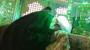 بارگاه علی بن محمد باقر(ع) مشهد اردهال غبارروبی شد