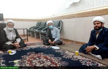 سفر مدیر و جانشین حوزه علمیه خوزستان به شهرستان حمیدیه و هویزه