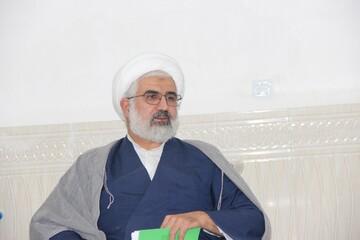 خداقوت مدیر حوزه علمیه قزوین به طلاب جهادی تاکستان