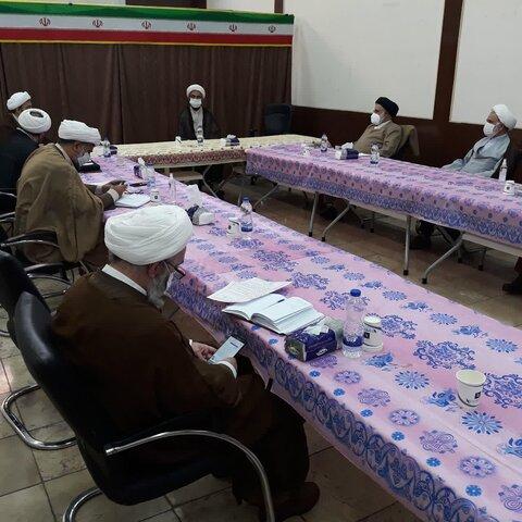 جلسه شورای هماهنگی نهادهای حوزوی استان تهران