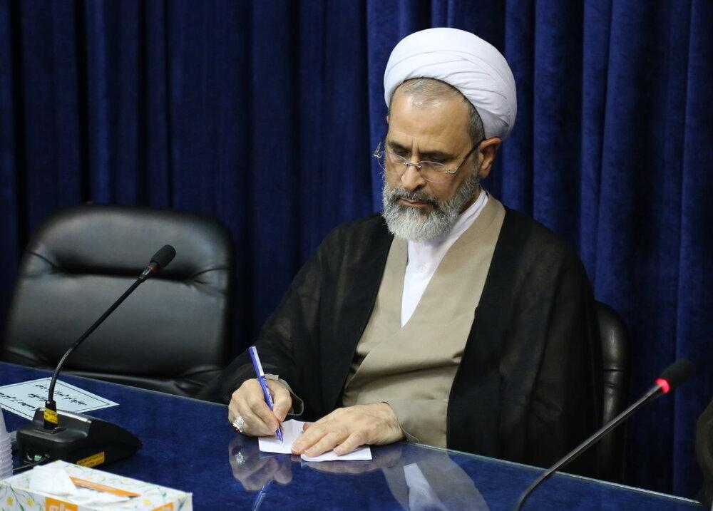 تسلیت آیت الله اعرافی به معاون حقوقی و امور مجلس قوه قضائیه