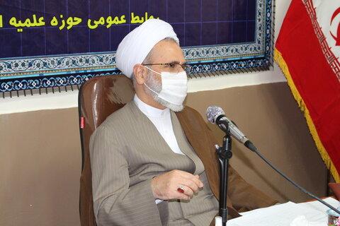 تصاویر| جلسه شورای معاونین حوزه علمیه فارس با حضور آیت الله اعرافی