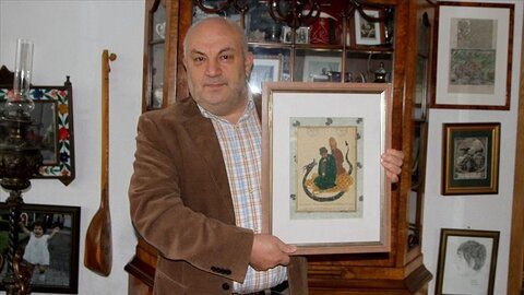 Germany: Painting of Muslim mystic sold at auction