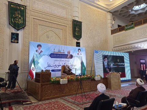 سفر آیت الله اعرافی به شیراز