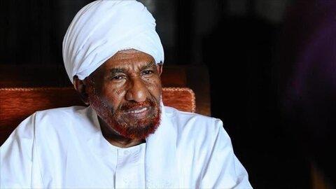 صادق المهدی رئیس حزب امت سودان