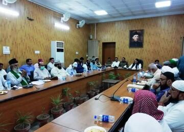 ملتان، عیدمیلادالنبی کے سلسلے میں امن کمیٹی کا اجلاس