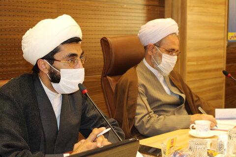 تصاویر| کمیته عالی وقف حوزه علمیه فارس با حضور آیت الله اعرافی
