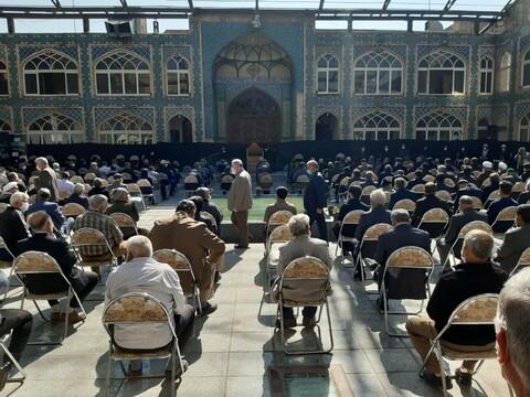 تصاویر/ مراسم گرامی داشت  شهید مدافع سلامت دکتر محمد زارع جوشقانی درکاشان