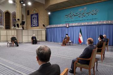 تصاویر/ جلسه ستاد ملی مقابله با کرونا در حضور رهبر معظم انقلاب اسلامی