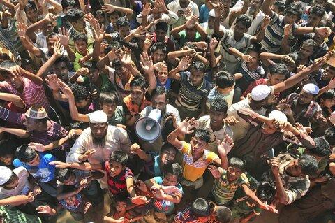 تعهد جامعه بینالمللی برای کمک 600 میلیون دلاری به مسلمانان روهینگیا