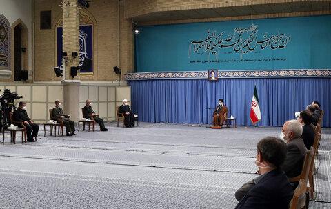 جلسه ستاد ملی مقابله با کرونا در حضور رهبر معظم انقلاب اسلامی