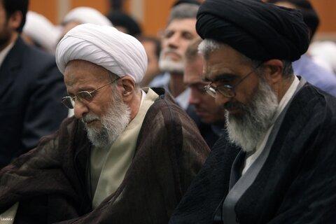 بازنشر/ تصاویر دیدار اعضای موسسه آموزشی پژوهشی امام خمینی(ره) با رهبر معظم انقلاب ۳ آبان ۸۹