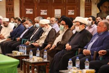 مراسم تودیع و معارفه نماینده رهبر انقلاب در سوریه برگزار شد