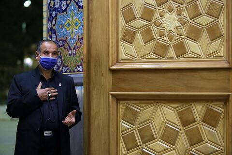 تصاویر/ حال و هوای حرم کریمه اهل بیت(ع) در شب شهادت امام حسن عسکری(ع)