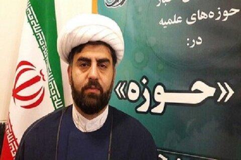 حجت الاسلام ابوالفضل نجادی مدیر مدرسه علمیه امام صادق(ع) مشکات کرمانشاه