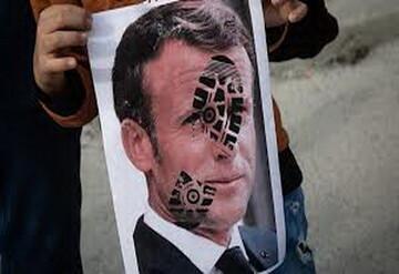 رئیس جمهور فرانسه نماد جاهلیت مدرن است