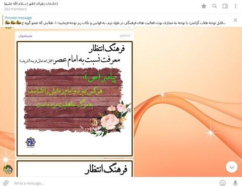 نشست مجازی الزهرا یزد