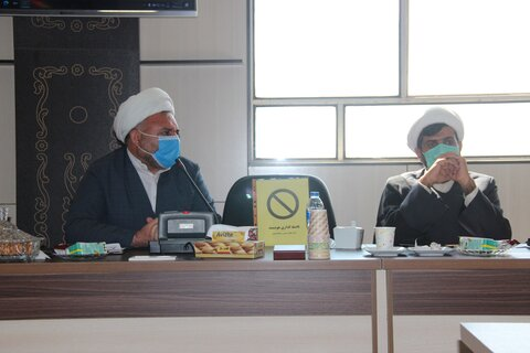 جلسه همکایر های آموزش وپرورش وحوزه علمیه قزوین
