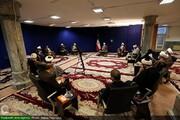 نشست مسئولان کمیته های ستاد حوزوی بحران و حوادث غیر مترقبه با آیت الله اعرافی