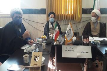 تصاویر/ جلسه ستاد بحران و حوادث نهادهای حوزوی حوزه علمیه کرمانشاه