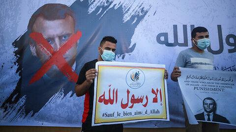 Muslim world unites against Macron's Islamophobic comments