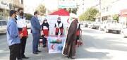تصاویر/ شرکت طلاب مدرسه حجت بن الحسن (عج) دره شهر در طرح آمران سلامت