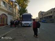 تصاویر/ اعزام گروه جهادی طلاب کردستان به استان خراسان برای مشارکت در طرح «جهاد زعفران»