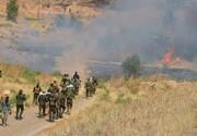 الإعلام الامني: استشهاد وإصابة ۸ من عناصر الحشد بانفجار عبوة في كركوك