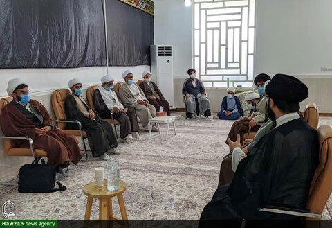 سفر مدیر و جانشین حوزه علمیه خوزستان به شهرستان هفتکل