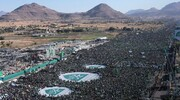 بالصور/ حشود مليونية تشارك في ذكرى المولد النبوي الشريف بالعاصمة صنعاء