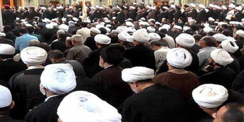 طلاب حوزه علمیه نجف اشرف