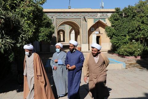 تصاویر  بازدید مدیر ارزیابی، نظارت و آمار دفتر برنامه ریزی ونظارت حوزه علمیه های علمیه  از مدرسه منصوریه