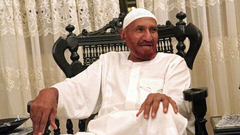 الصادق المهدی رهبر حزب امت قومی سودان