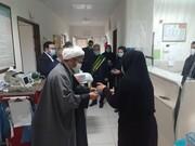 خادمان مسجد جمکران از مدافعان سلامت شهر شوط تجلیل کردند + عکس
