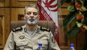 پیام فرمانده کل ارتش جمهوری اسلامی ایران در پی شهادت فخری زاده