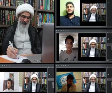 دیدار ویدئوکنفرانسی نماینده ولی فقیه بوشهر با جوانان و نوجوانان