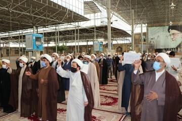 اللجان العلمية التابعة للحوزة العلمية بمدینة قم تدين بشدة الإساءة إلى نبي الرحمة محمد المصطفي (ص)