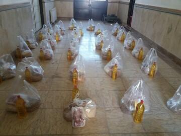 جهاد بانوان طلبه قزوین ادامه دارد/ توزیع بسته های معیشتی بین نیازمندان