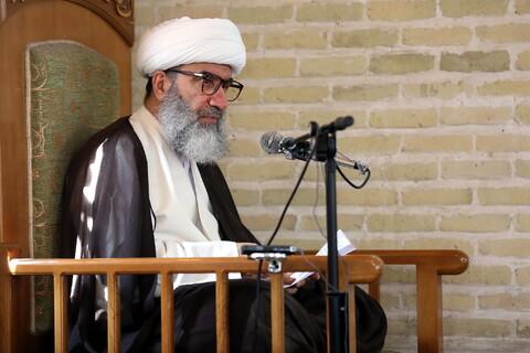 تصاویر/ مراسم محکومیت اهانت به پیامبر-سیفی مازندرانی