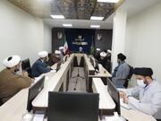 تشکیل جلسه قرارگاه سلامت و اقدامات جهادی حوزویان استان  تهران