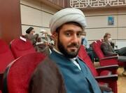 حضور گروه جهادی مدرسه سفیران هدایت بیجار در بیمارستان امام حسین(ع)