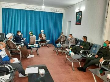 فعالیت دوباره گروههای جهادی بوئین زهرا برای مقابله با کرونا