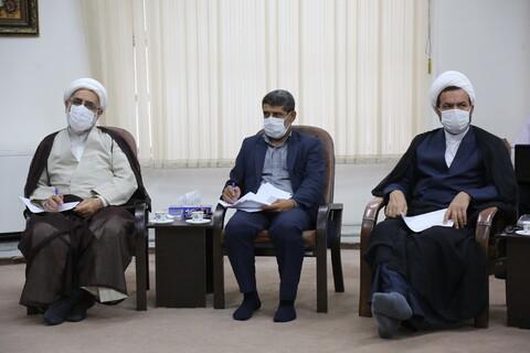 دیدار مدیر حوزه علمیه استان مازندران با آیتالله اعرافی