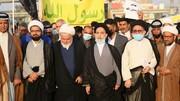 تصاویر/ تظاهرات مردم نجف اشرف در محکومیت اهانت به نبی اکرم (ص)