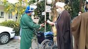 تقدیر مدیر حوزه علمیه قزوین از  کادر درمانی + عکس