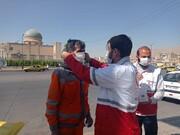توزیع ماسک و تذکر لسانی طلاب جهادی